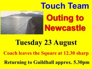 Touch Team Outing Newcastle @ Newcastle | Newcastle | Northern Ireland | United Kingdom