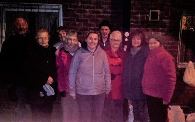 Touch Team Visit Hope Harbour Belfast