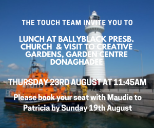Touch Team Donaghadee Trip