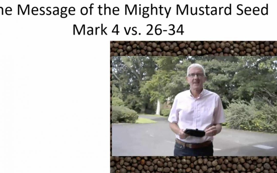 The message of the mighty mustard seed