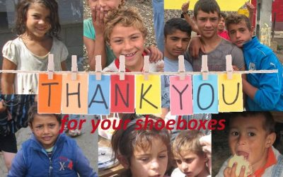 Shoe Boxes for Romania – Thank you !